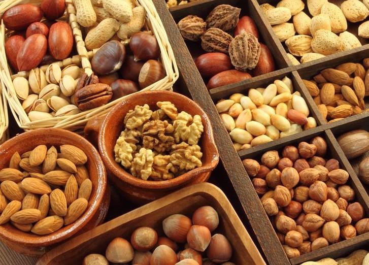 Питание орехами увеличивает колличество спермы у мужчин
