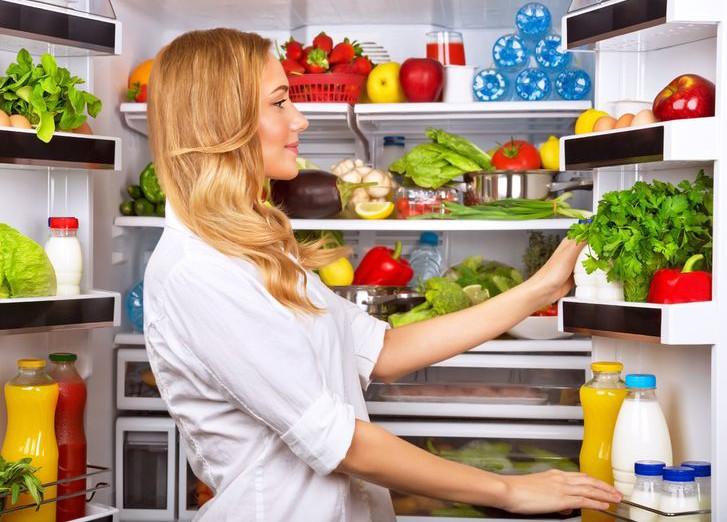 есть холодильнике: