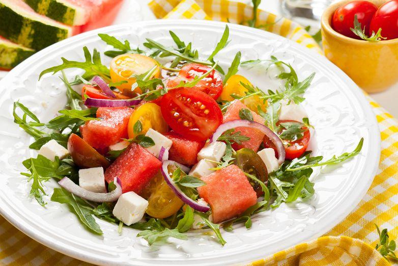 арбуз салат