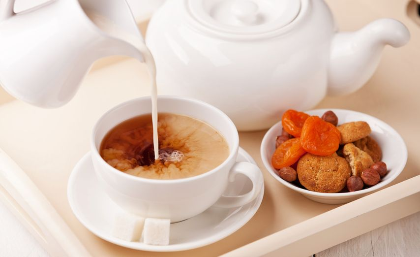 Картинки по запросу молоко к чаю