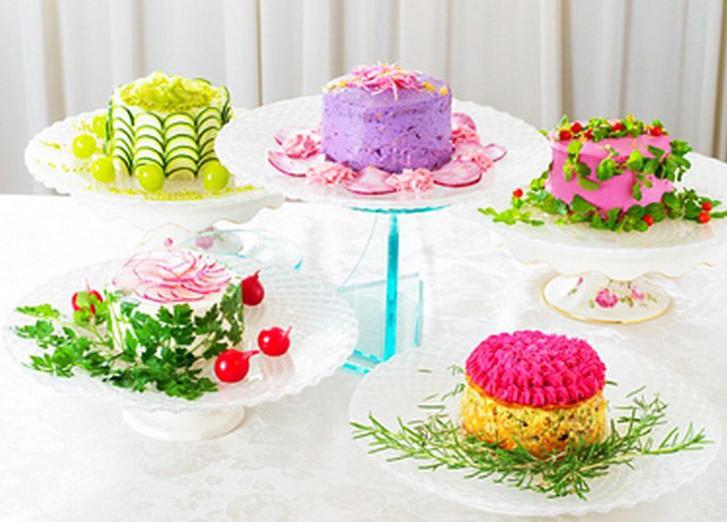 Торты из салатов