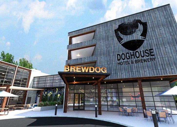 Гостиница The Doghouse Hotel and Brewery