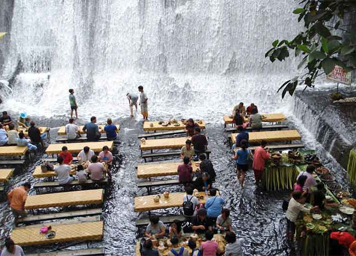 Ресторан Labassin Waterfall Restaurant