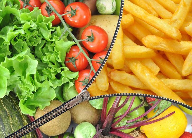 здоровое питание в америке